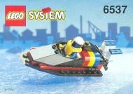 Set 6537 BOUWBESCHRIJVING- Hydro Racer gebruikt loc LOC M2