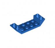 22889-7 Omgekeerde dakpan 45 graden 2x6 dubbel met 2x4 uitsnede blauw NIEUW *1B000
