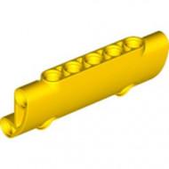 24119-3 Technic, paneel gebogen 7x3 met 2 gaten geel NIEUW *