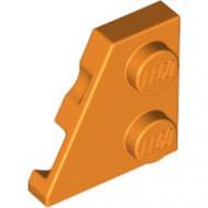 24299-4 Wig plaat 2x2 links oranje NIEUW *1L221+2