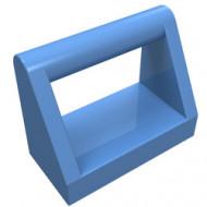 2432-42 Tegel 1x2 met hendel bovenop blauw, midden NIEUW *1L0000