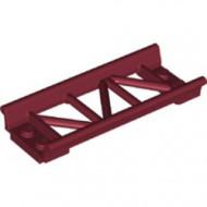 26022-59 Baan rollercoaster recht rood, donker NIEUW *