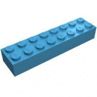 3007-72G Steen 2x8 blauw, Maersk gebruikt *5K0000