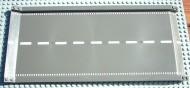 30477px1-10 Kade/ oprit weg recht OPLOPEND, 32x16 nops donker, grijs (klassiek) NIEUW *5W000