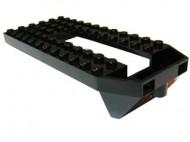 32085-11G Trein, Basis 6x14 met dakpanachtig front zwart gebruikt *