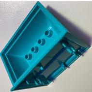 33087-40 SCALA Hangende wasbak turquoise, licht gebruikt *