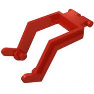 3314-5G Graafschop arm (zie steen 3317)) rood gebruikt *1R0000