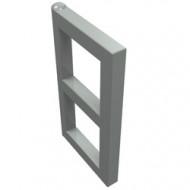 3854-9G Raampaneel 1x2x3 voor ramen 3853- Voor elk raam 2 stuks nodig lichtgrijs (klassiek) gebruikt *1L0000