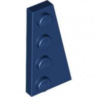 41769-63 Wig plaat 4x2 rechts blauw, donker NIEUW *1L223+4