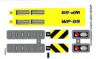 42035stk01 STICKER 42035 Mining Truck NIEUW *0S0000