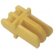 4220-3G Arm recht met drie vingers (grap holder) geel gebruikt *5K000