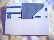 4515pb028R-1G Dakpan 10 graden 6x8 Star Wars motief (sticker) Wit gebruikt loc