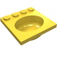 6195-3G Wasbak geel gebruikt *5D0000