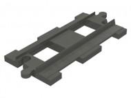 6377-85 DUPLO Treinrail recht (standaard) grijs, donker (blauwachtig) NIEUW *