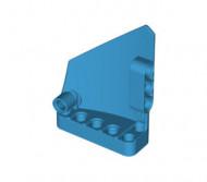 64680-153 Technic, Sierpaneel # 14 Groot kort glad Side B blauw, donkerazuur NIEUW *