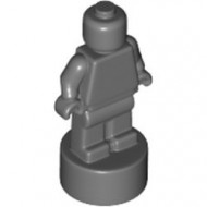 90398-85 Trofee/Ministandbeeld (Minifig) grijs, donker (blauwachtig) NIEUW *0B0000