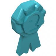 92355f-156 Friends lintje 2e prijs blauw, middenazuur NIEUW *0D0000