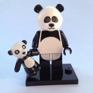 coltlm-15 MFG PROMOTIE Man in pandapak met baby panda NIEUW loc