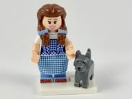 coltlm2-16 Dorothy Gale&Toto met hond en standaard NIEUW loc