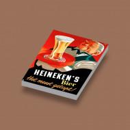 CUS0022 Tegel 2x3 Heineken's wit NIEUW loc 0A000