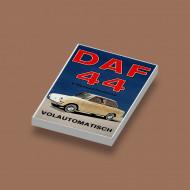 CUS1033 Tegel 2x3 DAF 44 wit NIEUW loc Auto's