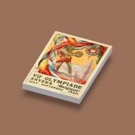 CUS1079 1920 Olympiade Belgique wit NIEUW Sport