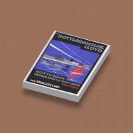CUS3065 Rotterdamsche Lloyd Schip met zeilschip wit NIEUW *0A000