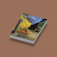 CUS4017 Tegel 2x3 Café de Nuit- Van Gogh wit NIEUW *0A000