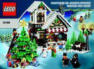 INS10199 10199 BOUWBESCHRIJVING- Winter Toy Shop NIEUW *