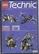 INS8082-G 8082 BOUWBESCHRIJVING- Universal Bulding Set gebruikt *