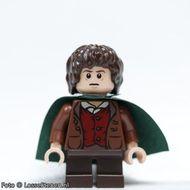 lor028 LOR: Frodo Baggins- donkergroene cape NIEUW loc
