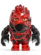 pm027G Power Miners-Rock Monster- Infernox (trans-roods) gebruikt *0M0000