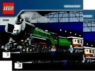 Set 10194 BOUWBESCHRIJVING- Emerald Night  gebruikt loc