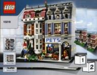 Set 10218 BOUWBESCHRIJVING-  Pet Shop  gebruikt loc