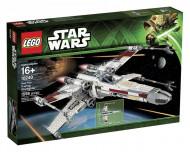 Set 10240-GB Red Five X-wing Starfighter gebruikt deels gebouwd *B036