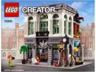 Set 10251 BOUWBESCHRIJVING- Brick Bank NIEUW loc