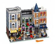 Set 10255-GB Assemly Square gebruikt deels gebouwd *B036