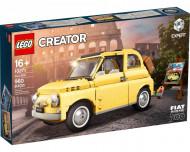 Set 10271-GB Fiat 500 gebruikt deels gebouwd *B036