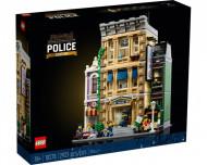 Set 10278-GB Police Station gebruikt deels gebouwd *B036