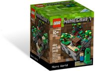 Set 21102 - Ideas: Minecraft Micro World: The Forest- Nieuw