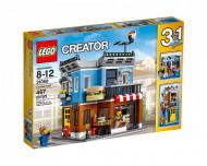 Set 31050-GB Corner Deli gebruikt deels gebouwd *B036