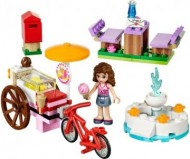 Set 41030-G - Friends: Olivia's Ice Cream Bike D/H/97%- gebruikt
