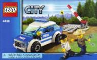 Set 4436 BOUWBESCHRIJVING- Patrol Car(1) Politie gebruikt loc LOC BE