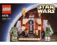 Set 4476 Jabba's Prize doos zwaar beschadigd NIEUW