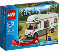 Set 60057 - Town: Camper Van- Nieuw
