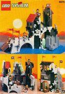 Set 6075 BOUWBESCHRIJVING- Wolfpack Tower Kastelen gebruikt loc