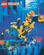 Set 6175 BOUWBESCHRIJVING- Aquazone: Crystal Explorere Sub Kastelen gebruikt loc