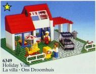 Set 6349 BOUWBESCHRIJVING- Vacation House Ruimtevaart gebruikt loc LOC M2