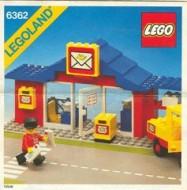 Set 6362 BOUWBESCHRIJVING- Post Office gebruikt loc LOC M2