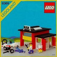 Set 6369 BOUWBESCHRIJVING-  Garage Auto gebruikt loc